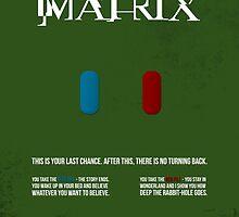 Matrix - minimal movie poster by HDMI2K