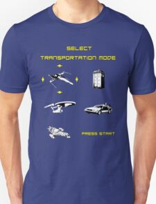 Sci-fi Transportation Modes 1 T-Shirt