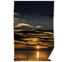 Ben Wyvis Sunset Poster