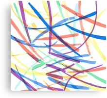 Happy Chaos Canvas Print