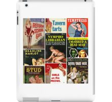 Pulp Fiction Cover Collage iPad Case/Skin