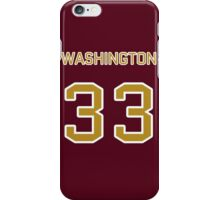 Washington Football (II) iPhone Case/Skin