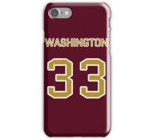 Washington Football (II) iPhone Case/Skin