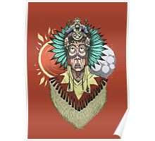 The native chief Poster