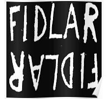 FIDLAR logo ( white [ on white ] ) Poster
