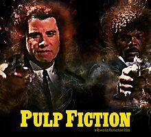 Pulp Fiction - Alternative Movie Poster by HDMI2K