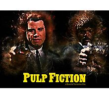 Pulp Fiction - Alternative Movie Poster Photographic Print