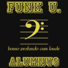 Funk U. Alumnus (for bass players) by Samuel Sheats