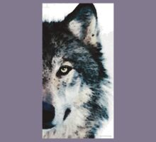 Wolf Art - Timber Kids Clothes