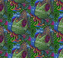 Chameleon color by borines
