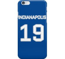 Indianapolis Football (I) iPhone Case/Skin