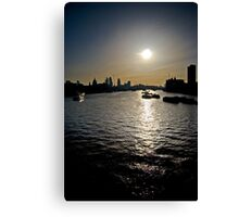 Early London. Canvas Print