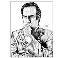 Saul Goodman : Better Call Saul Photographic Print
