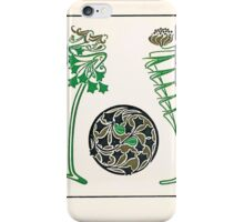 Maurice Verneuil Georges Auriol Alphonse Mucha Art Deco Nouveau Patterns Combinaisons Ornementalis 0048 iPhone Case/Skin