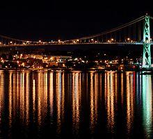 MacDonald Bridge by matthewsinger