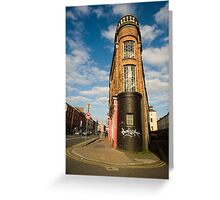 Washington Street & Little Hanover Street Greeting Card