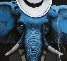 Classy elephant by Hurtu