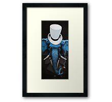 Classy elephant Framed Print