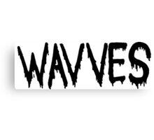 wavves Canvas Print