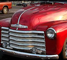 Red Chevy by vigor