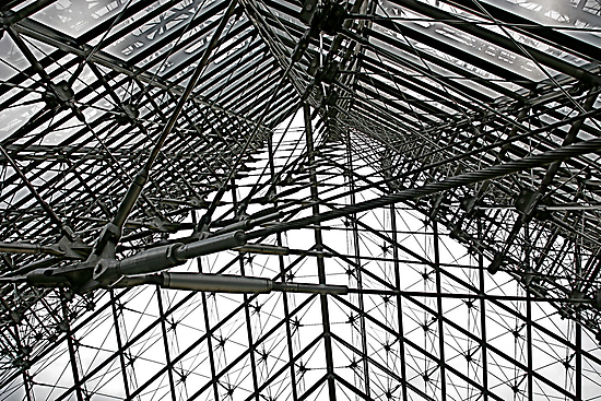 Louvre Interior (detail) by Richard Pitman