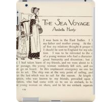 Mrs Leicester's School Charles & Mary Lamb with Minifred Green 18xx 0170 The Sea Voyage iPad Case/Skin