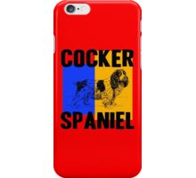 COCKER SPANIEL-2A iPhone Case/Skin
