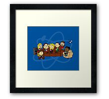 The Peanut Theory 2.0 Framed Print