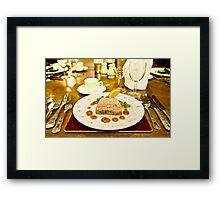 Restaurant 1 Framed Print