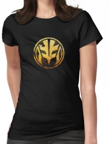 Tigerzord Coin Womens Fitted T-Shirt