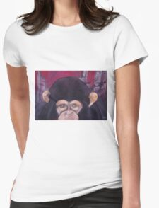 Now who's the dumb ones  Womens Fitted T-Shirt