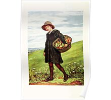 Kate Greenaway Collection 1905 0008 Off to the Village Poster