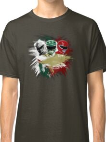 White,Green,Red Rangers Classic T-Shirt
