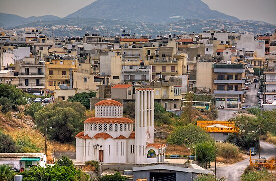 Round Church in Heraklion by Tom Gomez
