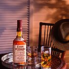 Glass of Bourbon at Sundown. by Peter Stone