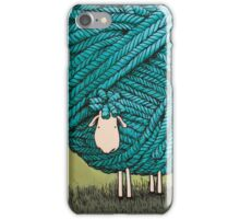 The sheep of wool iPhone Case/Skin