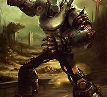 Fallout 3: Liberty Prime Art by EJRidgeway