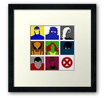 X-Men UNITE!! Framed Print