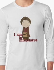 Aim to Misbehave Long Sleeve T-Shirt