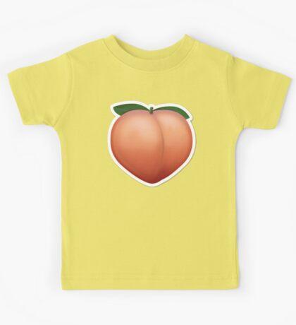 Peach Emoji Kids Tee