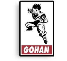 Gohan Obey Style Canvas Print
