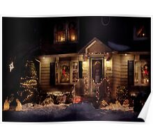 Christmas - The night before Christmas Poster
