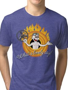 That's Nux, folks! Tri-blend T-Shirt