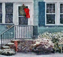Christmas - Merry Christmas - Painted by Mike  Savad
