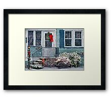 Christmas - Merry Christmas - Painted Framed Print
