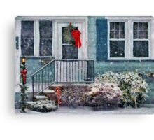 Christmas - Merry Christmas - Painted Canvas Print