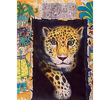 Mayan Jaguar Photographic Print
