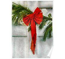 Christmas - Ribbon Poster