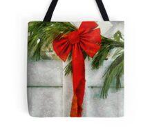 Christmas - Ribbon Tote Bag