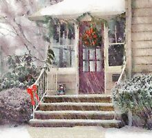 Christmas - Silent Day - painted by Mike  Savad